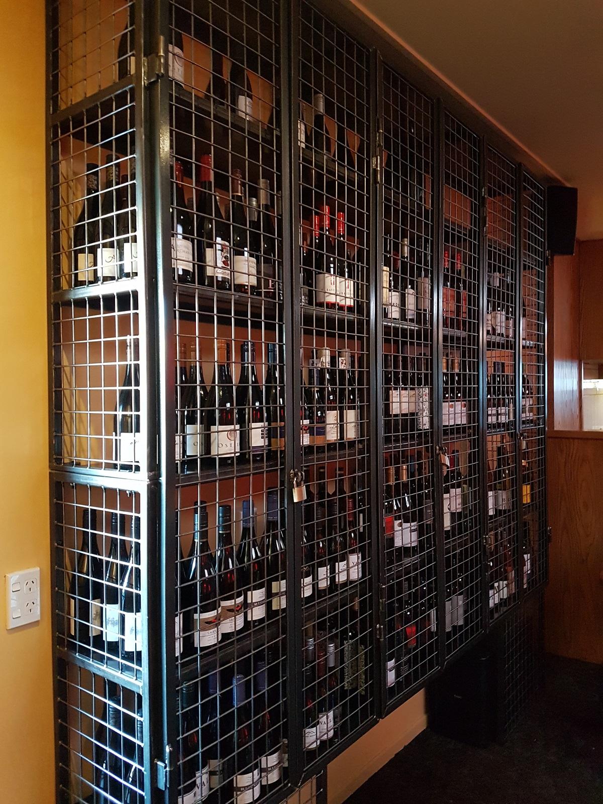 Custom Made Wine Cage Hands On Wanaka Handyman